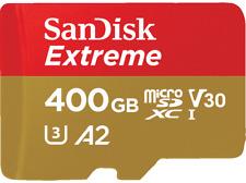 Artikelbild SANDISK Extreme 400 GB Micro-SDXC Speicherkarte 160 MB/s NEUWERTIG