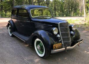 1935 Ford Deluxe Tudor - Gorgeous Unrestored Survivor