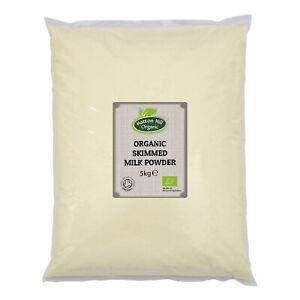 Organic Skimmed Milk Powder 5kg Certified Organic