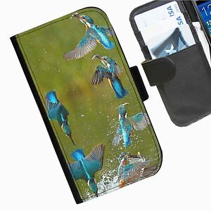 Pajaro-Martin-Pescador-funda-de-telefono-Azul-Para-Nokia-Sony-Lg-Motorola-y-telefonos-de-Google