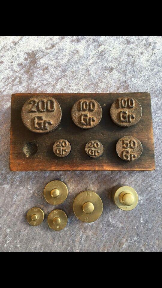Andre samleobjekter, Antikke/Gamle vægtlodder - bla