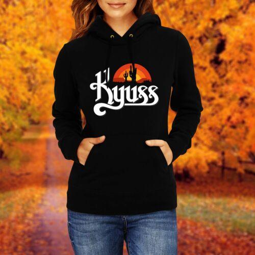 LADY//DAMEN SWEATSHIRT Kyuss Rock HOODED SWEAT HOODIE Pullover Kapuzenpullover