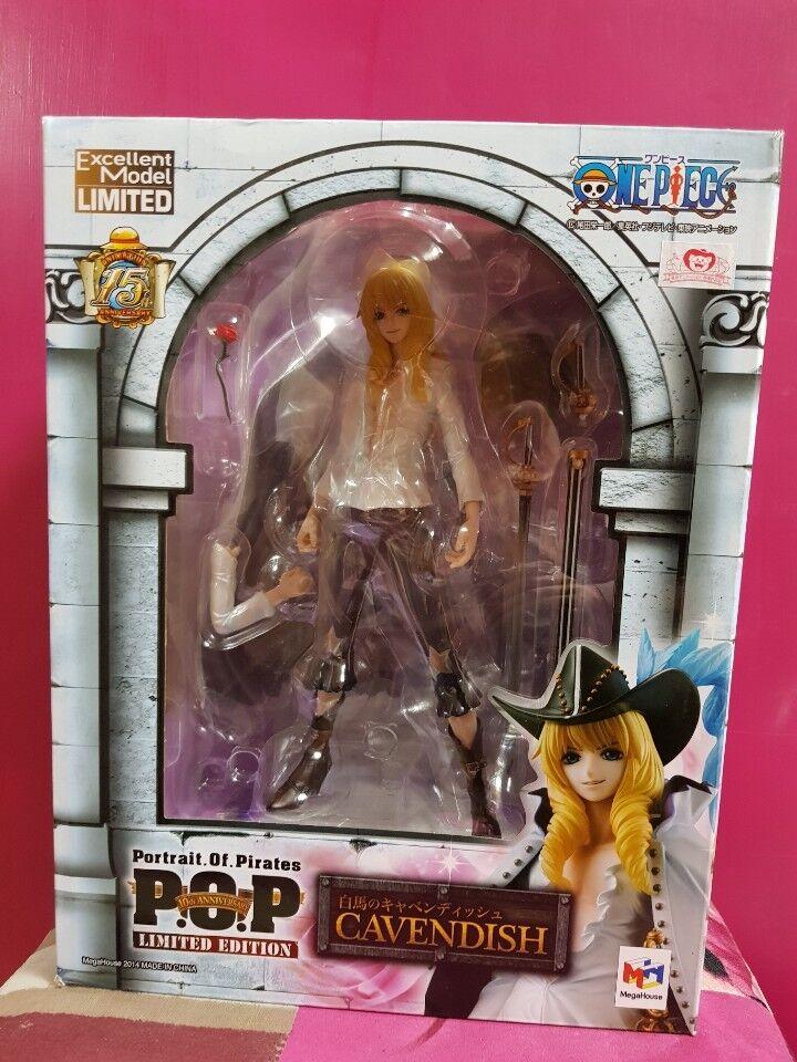 P.O.P Cavendish One Piece 15 anniversaire Mega House Portrait of Pirates Figure