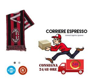 Sciarpa-Ufficiale-AC-Milan-Jaquard-originale-ologramma