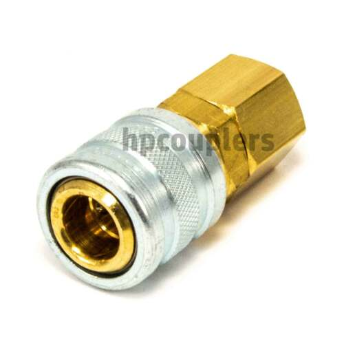 """Foster 3203-3//8/"""" Female NPT x 1//4/"""" Quick Coupler Air Hose Fittings M type USA"""