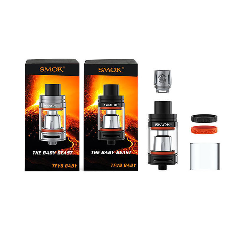 Authentic SMOK TFV8 Baby Beast 5pk Coils T8 X4 Q2 Replacement Glass