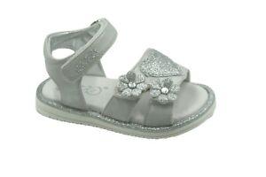 Asso scarpe bambina sandali AG-1806 bianco argento  PE19