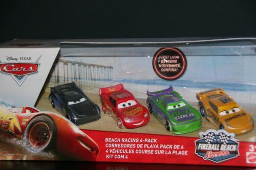 "FIREBALL BEACH RACER/"" NEW IN PACKAGE DISNEY PIXAR CARS 3 /""BEACH RACING 4-PACK"