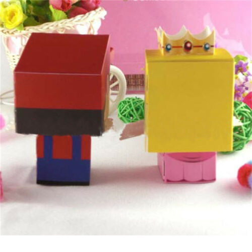 100pcs Cartoon Candy Treat Gift Box Cardboard Bags Birthday Wedding Party Favor
