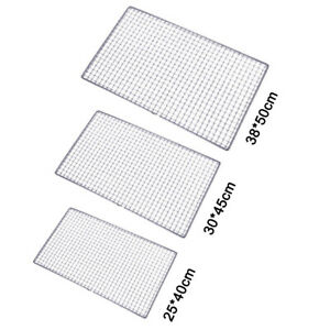 Hot-Stainless-Steel-Barbecue-BBQ-Grate-Grid-Wire-Mesh-Rack-Cooking