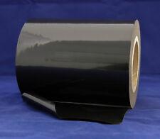 PE-Schutzfolie selbstklebend Oberflächenschutzfolie 100m x 180mm schwarz