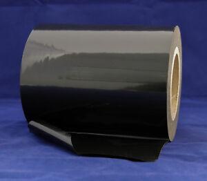 PE-Schutzfolie selbstklebend Oberflächensch<wbr/>utzfolie 100m x 180mm schwarz