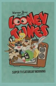 LOONEY-TUNES-TV-CHARACTERS-POSTER-22x34-16518