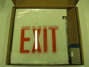 Big Beam Emergency Exit Sign ECX1RWW