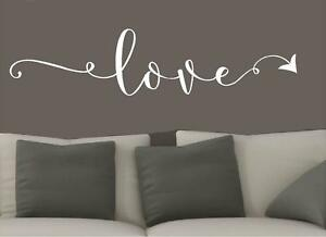 Image Is Loading Love Arrow Vinyl Wall Decals Home Decor