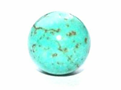 SEMI PRECIOUS BLUE TURQUOISE ROUND GEMSTONE BEADS GEM STONES - VARIOUS SIZES