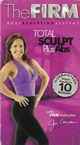 The-Firm-Body-Sculpting-System-2-VHS-Total-Sculpt-Plus-Abs-Approx-60-Minutes
