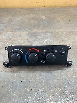 05 Dodge Dakota Heater A//C Climate Control P55056395AC 2005