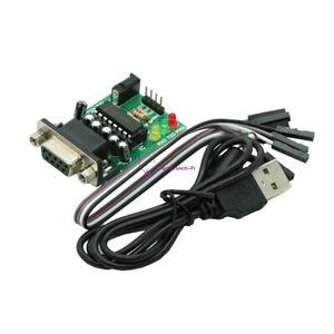 MAX232CPE RS232 To TTL Converter Module COM Serial Board Transfer Chip Atmega16