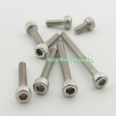 Metric Thread M3 Stainless Steel Button Head Hex Socket Cap Screws Bolts 304 B
