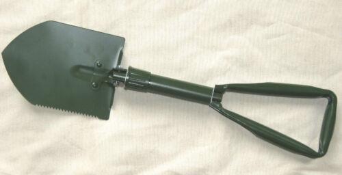 Pick w//pouch Large Military Syle Folding D-handle Shovel