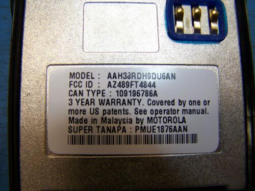 Walkie Talkies, Two-Way Radios Motorola EX600 XLS UHF ...