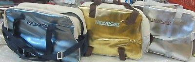 Newport Borsa Termica Frigo Mare Spiaggia Gold Silver Azzurro New Con Etichetta Lustro Incantevole