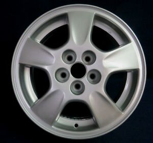 chevy cavalier 00 02 15 5 spoke silver alloy aluminum wheel 1 oem 5092 ebay ebay