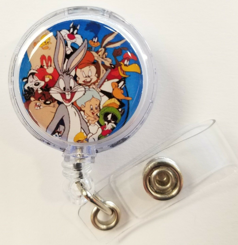 Bugs Bunny Character ID Holder LANYARD Keychain