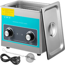 Vevor 3l Stainless Steel Ultrasonic Cleaner Heated Heater Withtimer Industry Labs