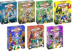 Digimon - Integrale des Saisons 1 à 7 (DVD)