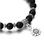 7-Chakra-Bracelet-Lava-Healing-Stones-Beaded-Gemstones-Beads-Elastic-Yoga-Stone thumbnail 24