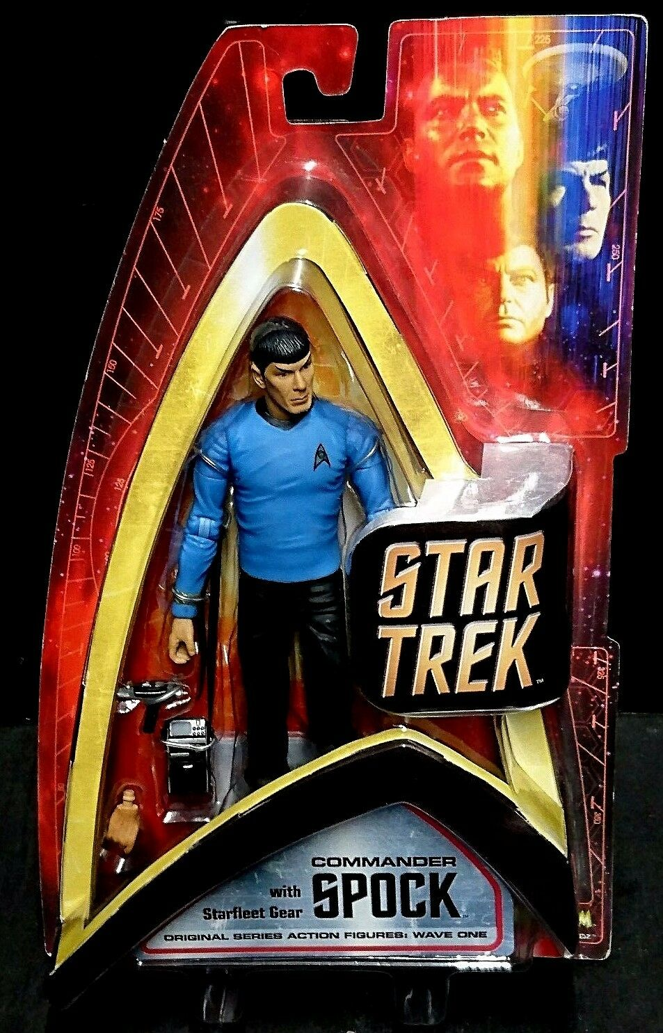 Star Trek Original Series Wave One COMMANDER SPOCK New  Art Asylum Leonard Nimoy