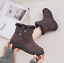Winter-Women-Warm-Shoes-Snow-Boots-Fur-lined-Slip-On-Warm-Ankle-Shoes-Waterproof thumbnail 5