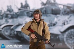 DRAGON IN DREAMS DID 1/6 US WW II DONALD 2nd ARMOURED DIVISION FURY