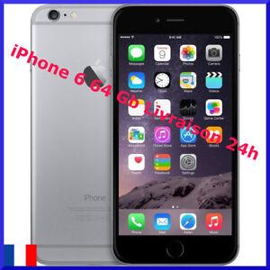 iPhone-6-64-Gb-Gris-sideral-Debloque-TOUT-operateur-BON-ETAT-Vendeur-PRO
