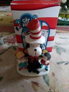Seuss Cat in the Hat Movie Bobblehead w//Kids Universal Studios Figure Dr NEW!