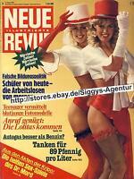 Neue Revue Nr. 9/1981 vom 21. Februar 1981, Rarität für Sammler, komplett, topp