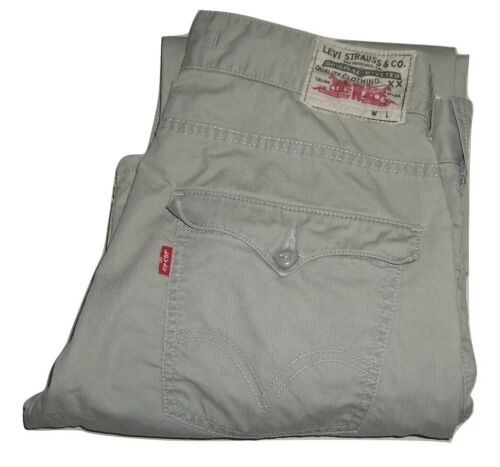 Mens LEVI'S 512 Light Grey Bootcut Lightweight Jea