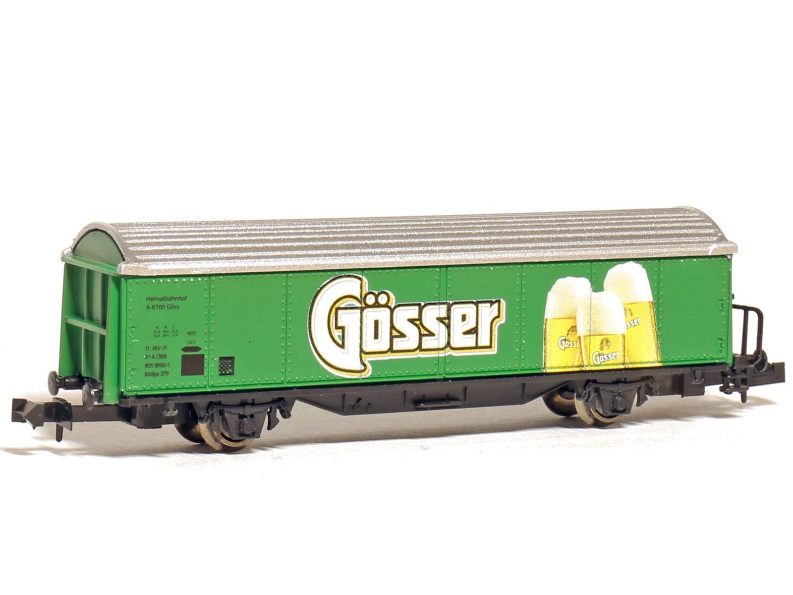 Sowa-N 2013 2013 2013 - Güterwagen Kühlwagen Bierwagen ÖBB Gösser - Spur N - NEU  | Perfekt In Verarbeitung  03c404
