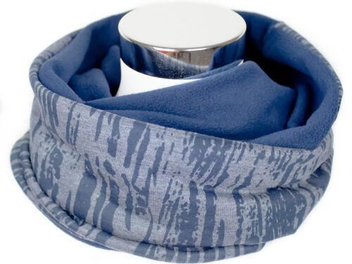 Loop Schal Winterloop Damen Jersey Fleece