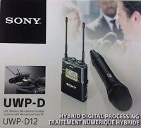 Sony UWP-D12 Handheld Wireless Professional Microphone Microphones