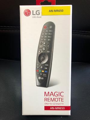 NEW IN BOX NIB SEALED LG MAGIC REMOTE CONTROL AN-MR18BA AI THINQ SMART TVS 2018