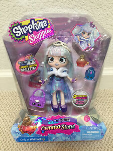 Image Is Loading New LIMITED EDITION Shopkins SHOPPIES GEMMA STONE Doll