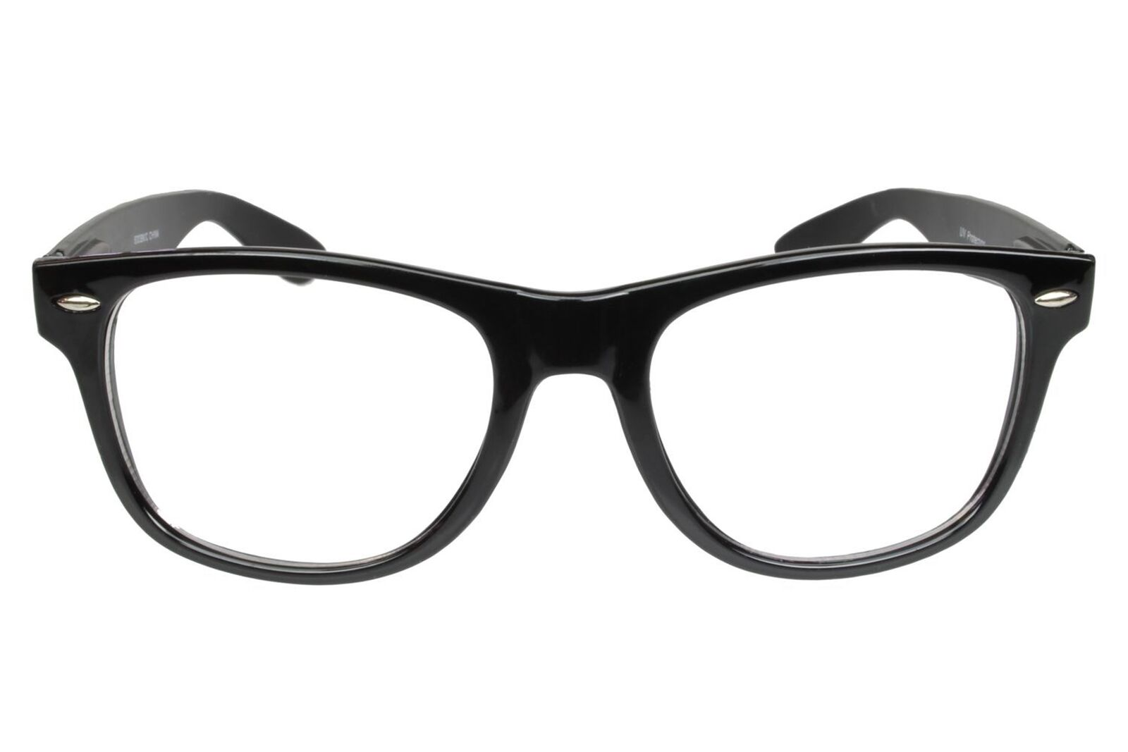 0dc6e15ef40 Fake Glasses Nerd Buddy Holly Classic Thick Black Frame Clear Lens ...