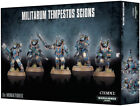 Games Workshop Warhammer 40k Militarum Tempestus Scions