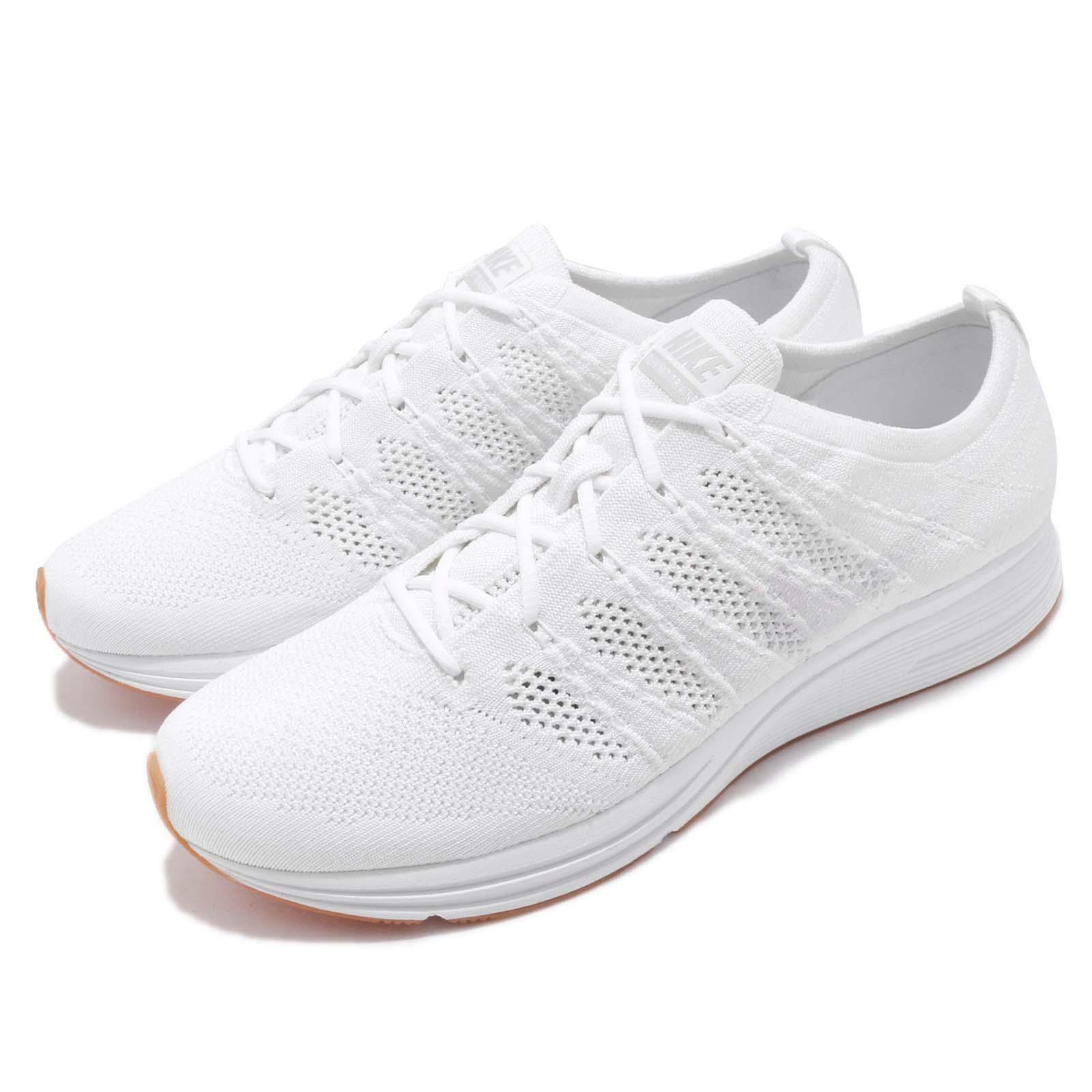 Nike Flyknit Trainer Reflective White Gum Men Running shoes Sneakers AH8396-102