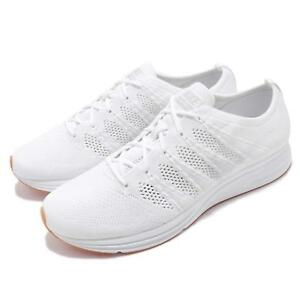 ef557f130f85e Nike Flyknit Trainer Reflective White Gum Men Running Shoes Sneakers ...