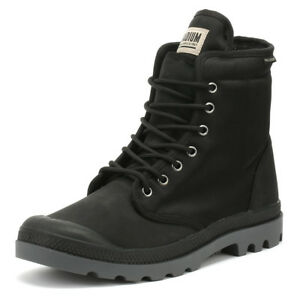 Palladium-Unisex-Boots-Pampa-Solid-Ranger-TP-Black-Lace-Up-Winter-Shoes