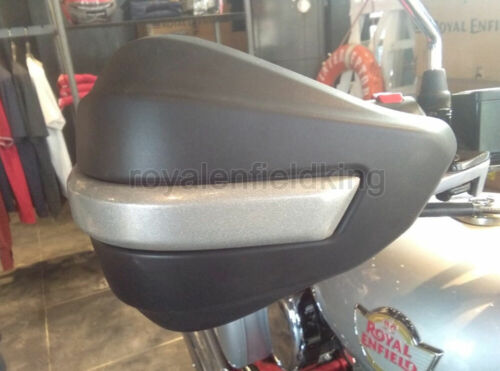 Genuine Royal Enfield Himalayan Hand Guard Kit and Clutch /& Brake Lever Silver